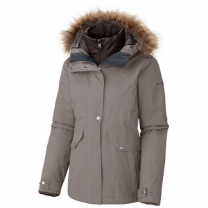 Columbia Women ' S Sunset Vista Interchange Jacket - Flint Grey