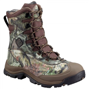 Columbia Men ' S Bugaboot Plus Iii Omni Heat Hunting Boot - Mossy Oak / Black