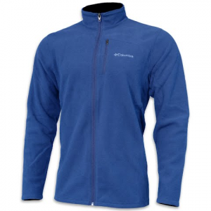 Columbia Men ' S Lost Peak Fleece Full Zip - Marine Blue