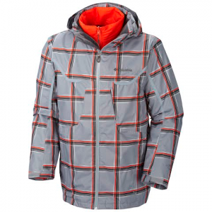 Columbia Men ' S Whirlibird Interchange Jacket - Tradewinds Grey Print