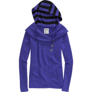 Burton Womens Happy Hour Premium Hoodie - Twilight