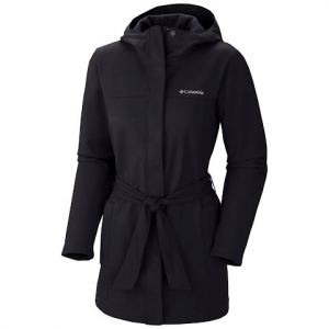 Columbia Women ' S Take To The Streets Trench - Black