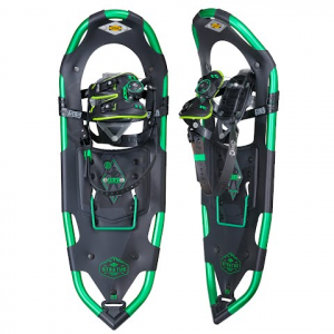 Atlas Snowshoes Men ' S Stratus Snowshoe - Black / Kelly Green