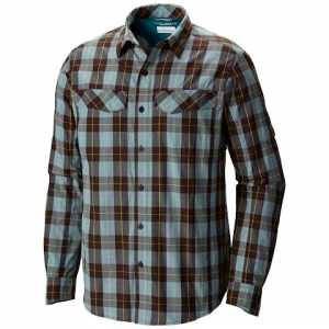 Columbia Men ' S Silver Ridge Plaid Long Sleeve - New Cinder Heather Plaid