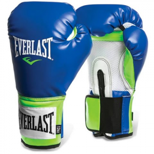 Everlast Pro Style Training Glove - Blue / Green