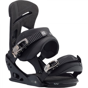 Burton Men ' S Mission Snowboard Bindings - Black