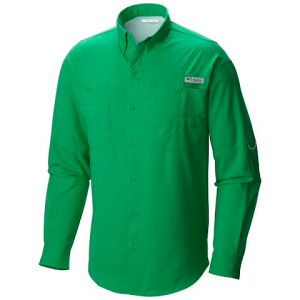 Columbia Men ' S Pfg Tamiami Ii Long Sleeve Shirt - Cupid