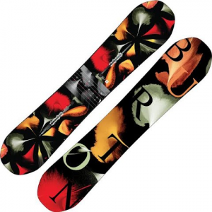 Burton Women ' S Deja Vu Flying V Snowboard