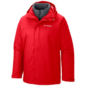 Columbia Men ' S Nordic Cold Front Interchange Jacket - Bright Red