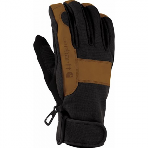 Carhartt Men ' S Chill Stopper Gloves - Black / Barley