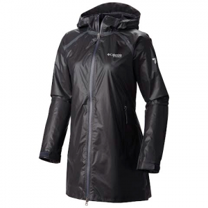 Columbia Women ' S Titanium Series Outdry Ex Gold Trench Jacket - Black
