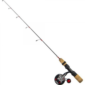 Frabill Straight Line 371 Bro Series 28 Inch Walleye Jigging Rod And Reel Combo ( M / L )