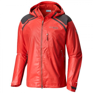 Columbia Men ' S Titanium Series Outdry Ex Diamond Shell Jacket - Super Sonic