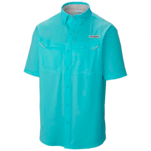 Columbia Men ' S Pfg Low Drag Offshore Short Sleeve Shirt - Moxie