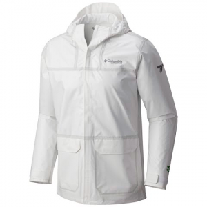 Columbia Men ' S Titanium Series Outdry Ex Eco Rain Shell - White