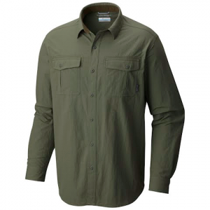 Columbia Men ' S Twisted Divide Long Sleeve Shirt - Cypress