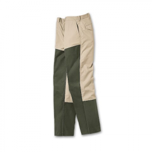 Filson Men ' S Cover Cloth Brush Pants - Tan / Otter Green