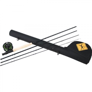 Echo Base Series 8ft 4 - Piece 4wt Fly Fishing Combo