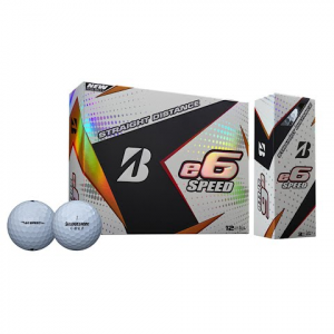 Bridgestone E6 Speed Golf Balls ( 1 Dozen ) - White