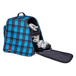 Athalon Light ' N Go Ski Boot Bag - Teal / Blk