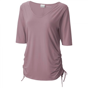 Columbia Women ' S Anytime Casual Ii Tee - Sparrow