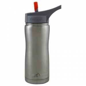 Eco Vessel Summit Insulated 17oz Bottle - Silver Express
