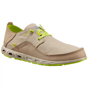 Columbia Men ' S Bahama Vent Relaxed Pfg Shoes - British Tan / Voltage