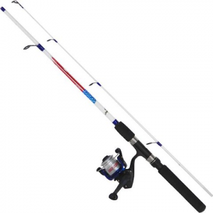 Eagle Claw Brave Eagle 4 ' 6 '' 2 - Piece Spinning Combo With Line