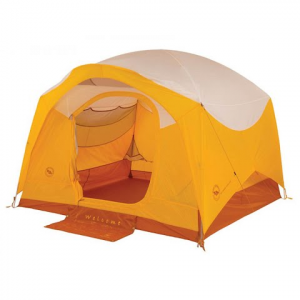 Big Agnes Big House 4 Deluxe Three Season Tent - Gold / White