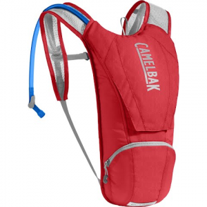 Camelbak Classic 85oz Hydration Pack For Cycling - Racing Red / Silver
