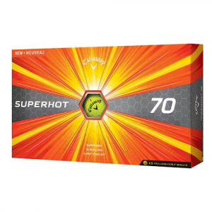 Callaway Superhot 70 Golf Balls ( 15 Pack ) - Yellow