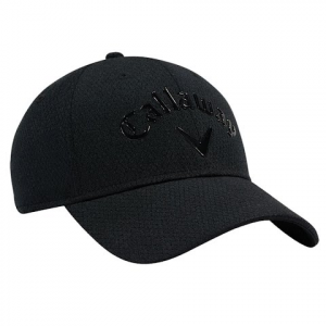 Callaway Men ' S Liquid Metal Cap - Black / Black