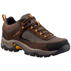 Columbia Men ' S Granite Ridge Waterproof Hiking Shoe - Mud