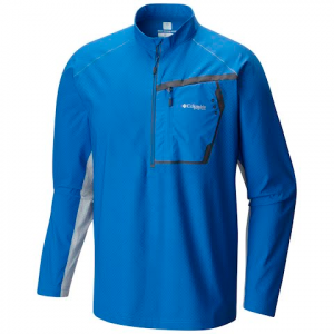Columbia Men ' S Pfg Force 12 Zero Half Zip Shirt - Tippet