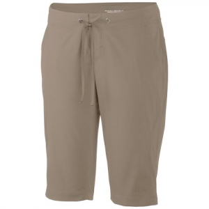 Columbia Women ' S Anytime Outdoor Long Short - Tusk