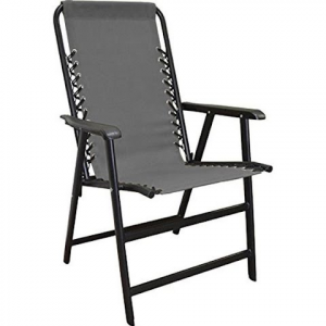 Caravan Suspension Folding Chair - Grey