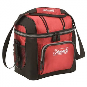 Coleman 9 Can Soft Cooler - Red