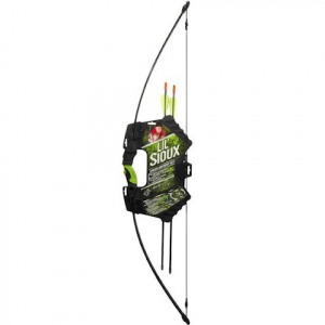 Barnett Youth Lil ' Sioux Recurve Archery Set ( Green )
