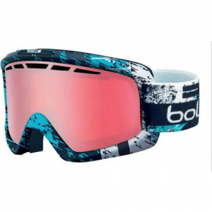 Bolle Nova 2 Snow Goggle - Matte Black And Blue Zenith / Vermillon Gun