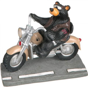 Big Sky Carvers Harley Bear Mini Figurine