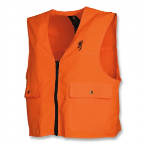 Browning Men ' S Safety Vest - Blaze Orange
