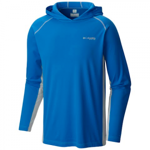Columbia Men ' S Cast Away Zero Hoodie - Vivid Blue