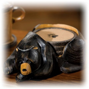 Big Sky Carvers Bear Coaster Set