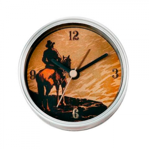 Big Sky Carvers Cowboy Clock - N - Can