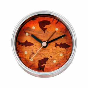 Big Sky Carvers Fish Clock - N - Can