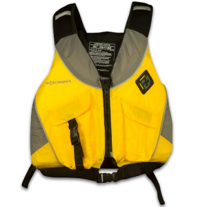 Extrasport Men ' S Equinox Dlx Type Iii Pfd - Yellow / Grey