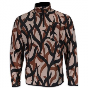 Asat Camouflage Elite Extreme Layer Zip Mock - Camo