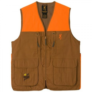 Browning Pheasants Forever Upland Vest - Tan