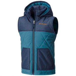 Columbia Youth Boy ' S Lookout Cabin Vest - Blue Heron