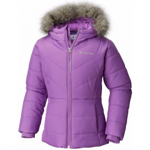 Columbia Girl ' S Youth Katelyn Crest Jacket - Crown Jewel